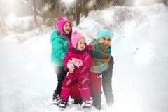 La familia feliz foto de archivo libre de regalías