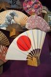 La fan japonesa Fotografía de archivo