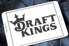 La fantasía de DraftKings se divierte el logotipo de la compañía fotos de archivo libres de regalías