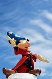 Figura de Disney de la fantasía de Mickey Mouse Foto de archivo libre de regalías