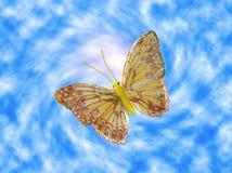 La farfalla illustrazione vettoriale