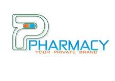 La farmacia droga a Logo Object médico Fotografía de archivo libre de regalías