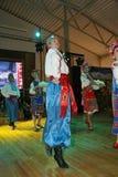 La fase del ¾ n di Ð è ballerini e cantanti, gli attori, i membri del coro, i ballerini del corpo di ballo, soliste dell'insieme  Immagini Stock Libere da Diritti