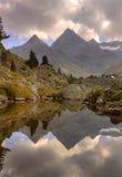 La Faxa mount, Pyrenees of Huesca, Aragon stock image