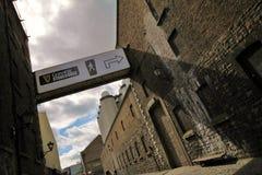 La fábrica irlandesa más famosa de la cerveza Foto de archivo libre de regalías