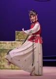 """La felicidad aparece en el  del oeste de Chamber†del """"the de la ópera de las cejas-Kunqu imagen de archivo"""