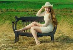 La felicità è di essere io stesso! Fotografia Stock