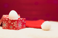 La Feliz Año Nuevo/casa la Navidad Imagen de archivo libre de regalías