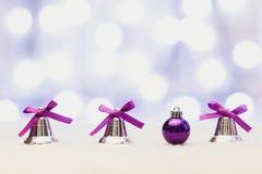 La Feliz Año Nuevo/casa la Navidad Fotografía de archivo libre de regalías