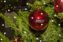 ¡La Feliz Navidad! Foto de archivo libre de regalías