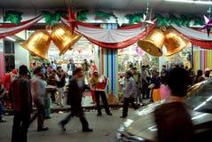 La Feliz-Navidad en la Kolkata-India Fotos de archivo