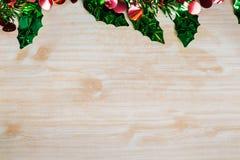 La Feliz Navidad y la celebración de la Feliz Año Nuevo diseñan con los copys Fotografía de archivo libre de regalías