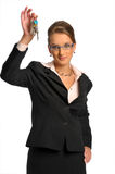 La femme d'affaires photographie stock
