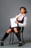 La femme d'affaires Images libres de droits