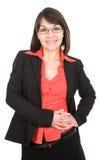 La femme d'affaires a isolé Photo libre de droits