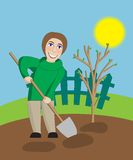Spring cleaning Image libre de droits