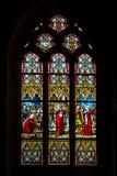 La fenêtre de l'église Photo libre de droits