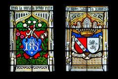 La fenêtre de l'église Photographie stock
