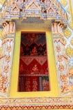 La fenêtre de l'église Photo stock