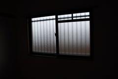 La fenêtre de la salle Photos libres de droits