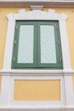 La fenêtre du mur Images stock