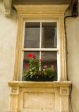 La fenêtre du vieux bâtiment Images libres de droits