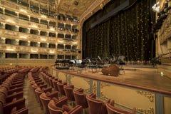 La Fenice de Gran Teatro Imagen de archivo