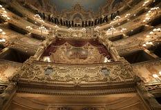 La Fenice de Gran Teatro Fotografía de archivo libre de regalías