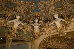 La Fenice de Gran Teatro Imágenes de archivo libres de regalías