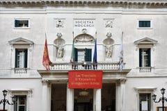La Fenice di Teatro - di Venezia Immagine Stock Libera da Diritti