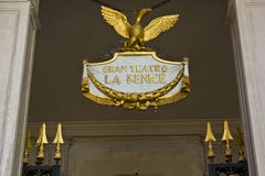 La Fenice emblem Royalty Free Stock Photo