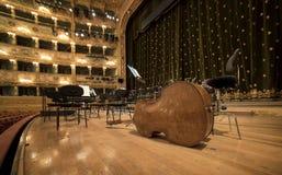 La Fenice Gran Teatro Stockbild