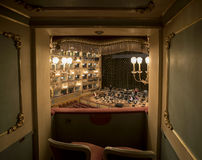 La Fenice van Granteatro royalty-vrije stock foto's