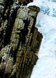 La fente de la terre et de la mer photographie stock libre de droits