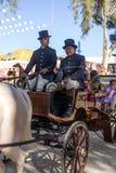 La feria de Utrera es un festival tradicional de la ciudad de Utrera imagenes de archivo