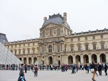 La feritoia a Parigi Fotografie Stock