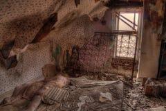 La ferme abandonnée dans le Dakota du Sud se délabre lentement photo libre de droits