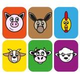 la ferme d'animaux Photographie stock libre de droits
