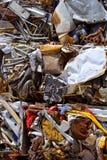 La ferraglia del ferro ha compresso per riciclare Fotografie Stock
