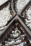 La ferrovia Fotografia Stock