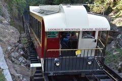 La ferrovia della pendenza della montagna dell'allerta a Chattanooga, Tennessee Immagini Stock Libere da Diritti