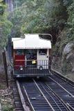 La ferrovia della pendenza della montagna dell'allerta a Chattanooga, Tennessee Fotografie Stock Libere da Diritti