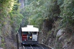 La ferrovia della pendenza della montagna dell'allerta a Chattanooga, Tennessee Fotografie Stock