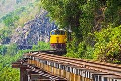 La ferrovia di morte Immagine Stock