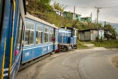La ferrovia famosa di fabbricazione britannica della montagna fotografia stock