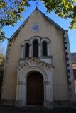 La Ferté圣欧班,法国 库存照片