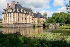 La Ferte城堡 免版税库存照片
