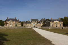 La ferte-Saint-Aubin castle Royalty Free Stock Images