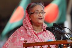 La festa dell'indipendenza del Bangladesh Fotografie Stock
