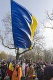 La festa nazionale della Romania Fotografia Stock Libera da Diritti